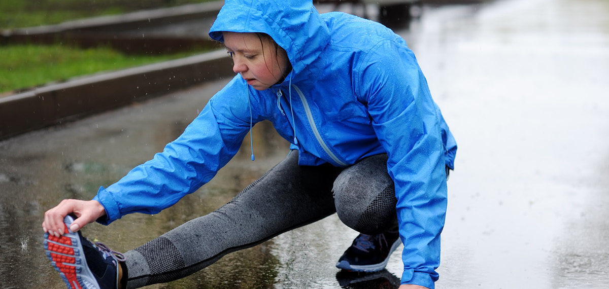 איך ממשיכים להתאמן כשגשום וקר?